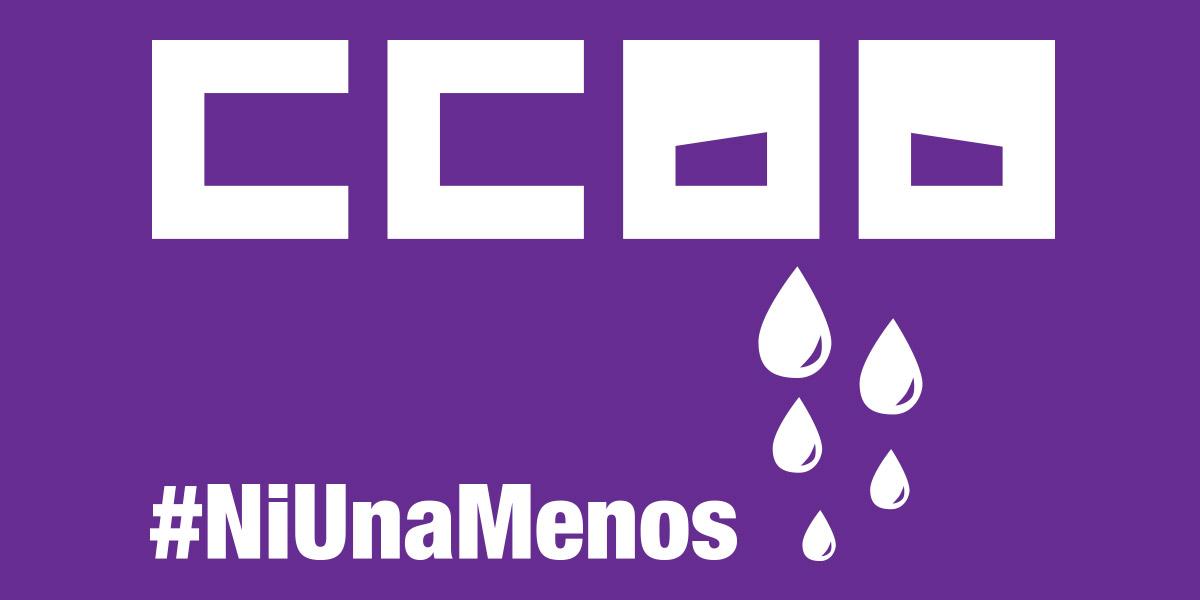 Resultat d'imatges de CCOO VIOLENCIA DE GÉNERO